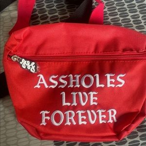Assholes live forever Fanny Pack